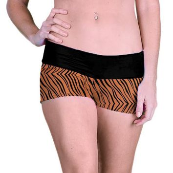 Outta Bounds Yoga Shorts Spandex Shorts Animal Print
