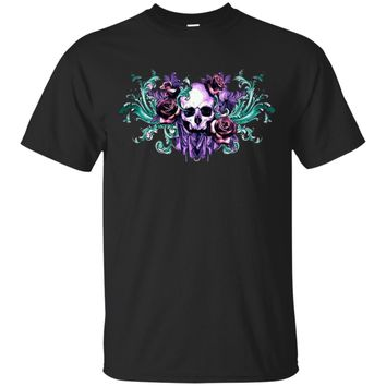 Death Flowers UB™ - Skull Shirts Sweatshirt Hoodies