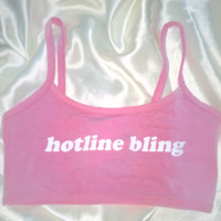SWEET LORD O'MIGHTY! HOTLINEBLING BRALET IN PINK