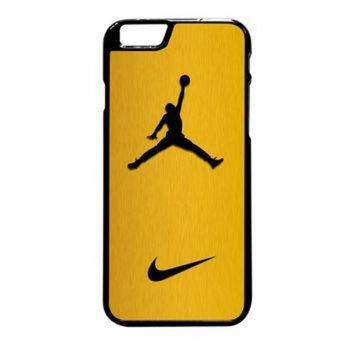 VONR3I Nike Air Jordan Golden Gold iPhone 6 Plus Case
