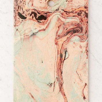 Marta Barragan Camarasa for Deny Abstract Marbled Cutting Board | Urban Outfitters