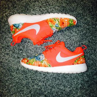 Custom Roshe Run - Bright Orange
