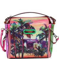 Nicole Lee Hollywood Hologram Print Handbag - eBags.com