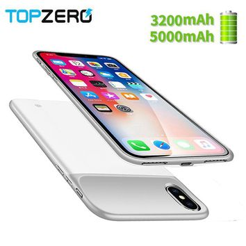 New 3200 5000mAh Portable Soft Silicone Battery Charger Case For. phonecase  ... 3acfee9ee