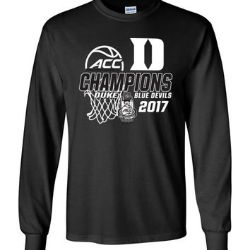 Duke ACC Championship Long Sleeve T-Shirt
