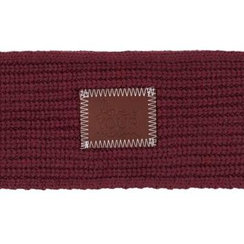 Burgundy Knit Headband - Love Your Melon