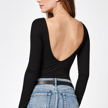 Lisakai Ribbed Long Sleeve Top at PacSun.com