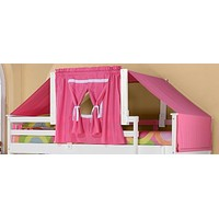 Taylor Tent Kit in Pink, White Wood