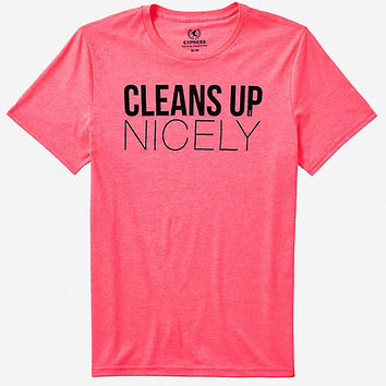 graphic tee - cleans up nicely from EXPRESS