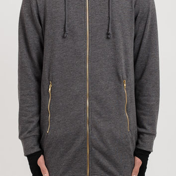 D09 Stealth Cape Hoody - Charcoal
