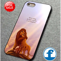Lion king Disney movie Quotes for iphone, ipod, samsung galaxy, HTC and Nexus  phone case