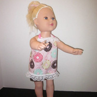 American Girl Our Generation 18 Inch Doll Apron And Hair Tie By Sweetpeas Bows & More