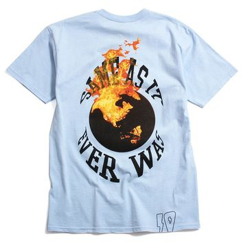 Same As It Ever Was T-Shirt Light Blue