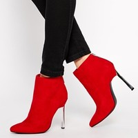 New Look Cruella Pointed Heeled Ankle Boots