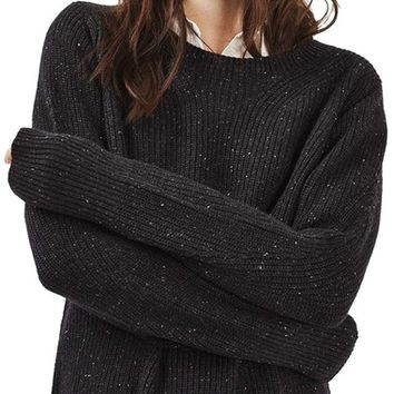 Topshop Fisherman Rib Sweater | Nordstrom