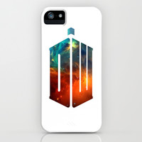 Doctor Who V iPhone & iPod Case by Rain Carnival