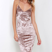 Tamara Shiny Pencil Dress