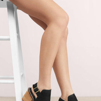 Chinese Laundry Caleb Peep Toe Buckle Booties