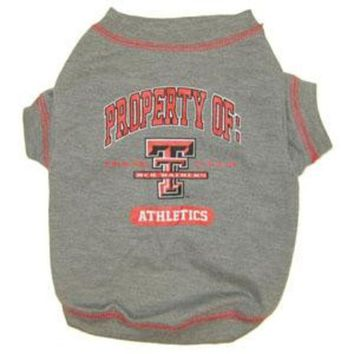 ESBHJ2 Texas Tech Pet Shirt LG