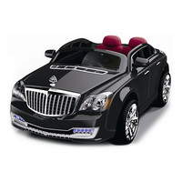 Best Ride On Cars Black Luxury Car Ride-On | zulily