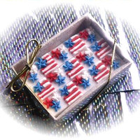 15 Decorated Sugar Cubes - USA