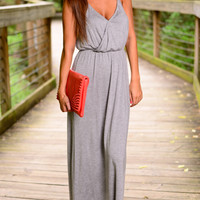 The Jane Maxi, Gray