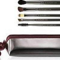 MAC 5 Pc Eye Brush Set + Mac Bag