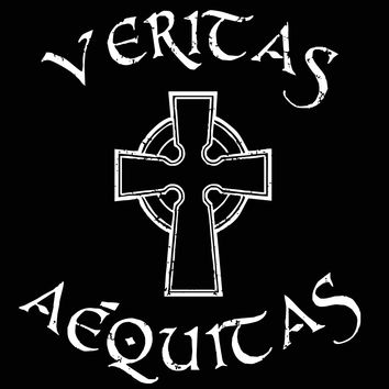Boondocks Saints Veritas Aequitas Women's Jr Fit T-Shirt