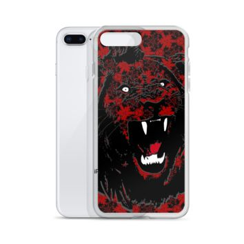 Shadow Lion King Of The Jungle iPhone Case (6-X)