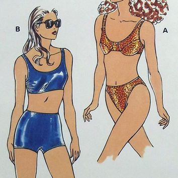 Kwik Sew Pattern 2332 Misses Swimsuits