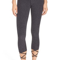 Beyond Yoga Strappy Midi Leggings | Nordstrom