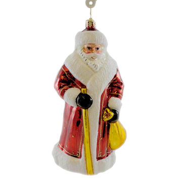 Christopher Radko RUSSIAN SANTA Blown Glass Limited Edition Ornament Santa