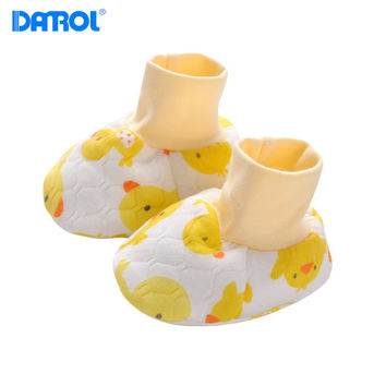 New Quilted Warm Foot Sleeve Baby Shoe Comfortable 5 Color Newborn Unisex Babies Crib Shoes