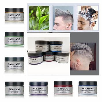 Professional Women & Men Beauty Hair Care Fashion Styling Temporary Hair Dye Cream Grandma Grey Hair Dye Haarverf DIY Super Dye