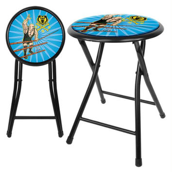 WWE Kids The Big Show 18 Inch Folding Stool - Black
