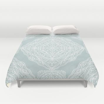 Intricate Medallions Duvet Cover by Noonday Design | Society6