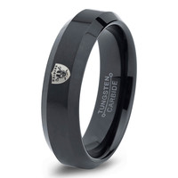Oakland Raiders Ring Mens Fanatic NFL Sports Football Boys Girls Womens NFL Jewelry Fathers Day Gift Tungsten Carbide 086