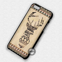 Deer Aztec Pattern - iPhone 7 6 Plus 5c 5s SE Cases & Covers