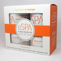 BCL Spa Mango + Mandarin 4 step starter kit 16oz