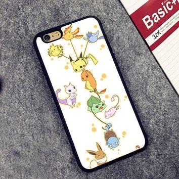 Coque Anime s Soft Silicone Full Protective case Cover For iPhone X 8 7 7Plus 6 6S Plus 5 5S SEKawaii Pokemon go  AT_89_9