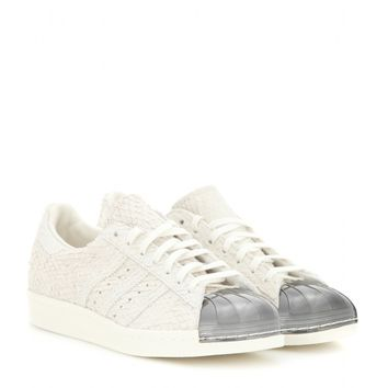Superstar 80s Metal Toe embellished suede sneakers