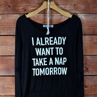 Napping Time Sweatshirt