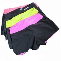 Women Yoga Shorts New Outdoor Sports Quick-drying Running Short FREE SHIPPING