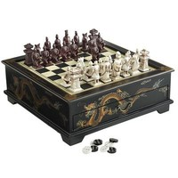 Black Dragon Chess/Checker Set