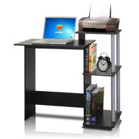 Mobile Laptop Desk Cart with Side Table