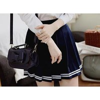 Pleated School-Girl Skirt