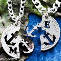 Anchor Jewelry Personalized with intials