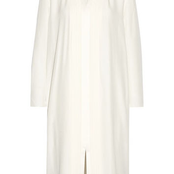 Adam Lippes - Pleated crepe midi dress
