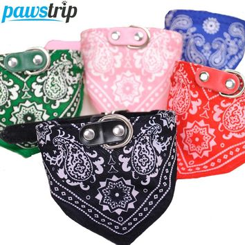 Pet Scarf Collar in 5 Colors in S-XL
