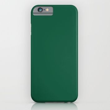 Teal The World (Green) iPhone & iPod Case by Moonshine Paradise